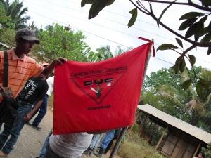 Bondeorganisationen CUC - Comité de Unidad Campesina - är en av de mest aktiva organisationerna i regionen